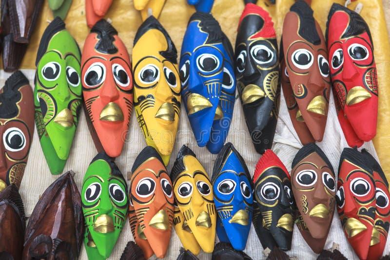 Souvenir market in Nairobi Capital, Kenya stock photos
