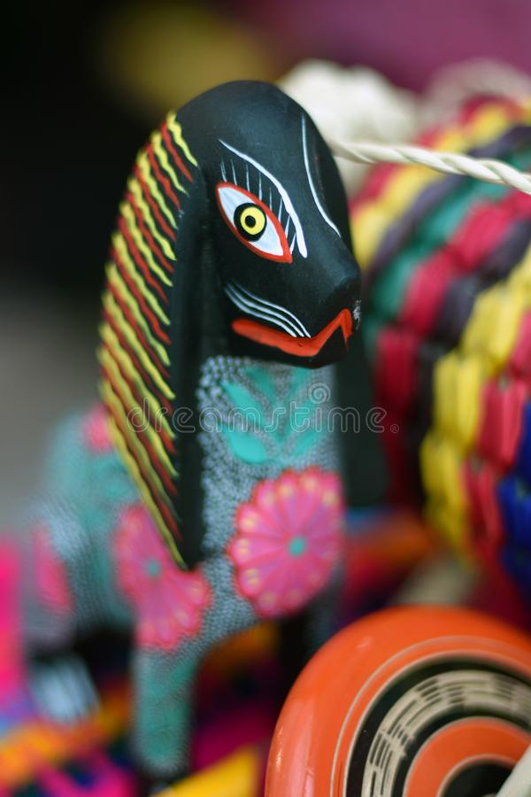 A souvenir from Mexico. Color photo. A souvenir from Mexico offered for sale at Mexico fan zone in Moscow during FIFA World Cup in Russia. Color photo stock images