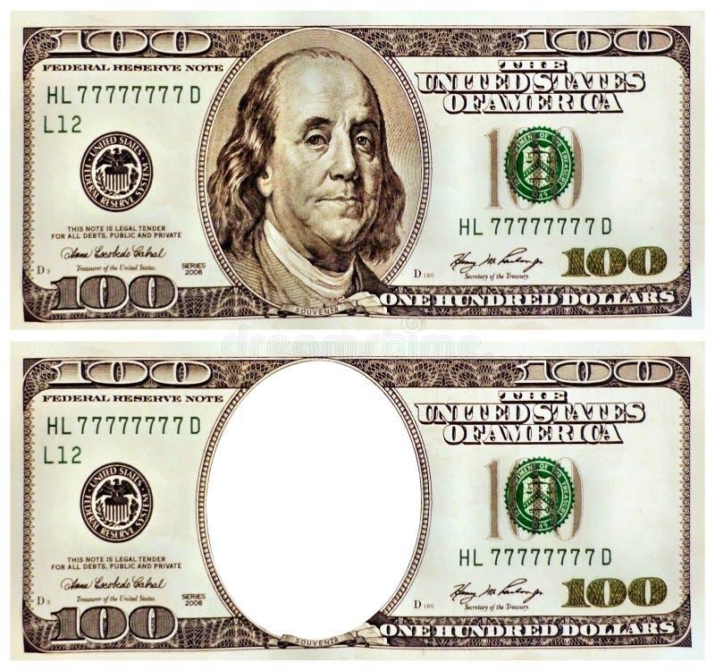 Free Souvenir One Hundred Dollars. Royalty Free Stock Photos - 12990958