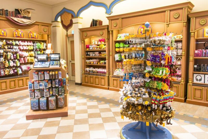 Souvenir Shop. Interior of souvenir shop in Everland in Korea. Photo was taken on 28 October 2012 stock image