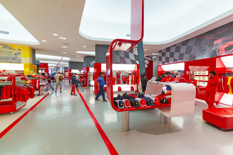 Download Souvenir Shop In Ferrari World Editorial Photography - Image: 40147217