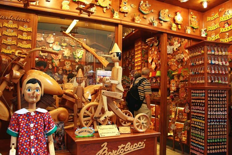Souvenir shop in Venice royalty free stock photo
