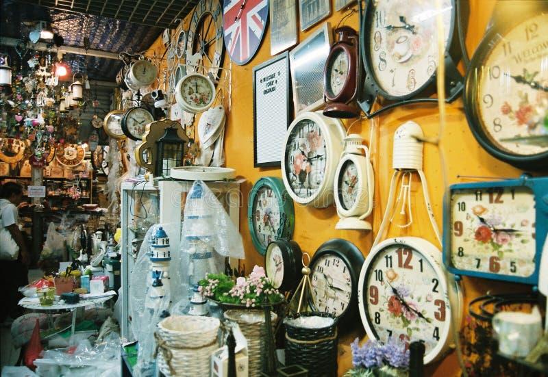 Souvenir Store. Souvenir store in Thailand stock photos