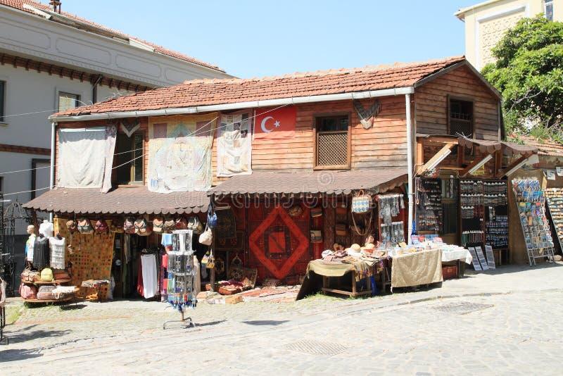 Souvenirladen in Istanbul lizenzfreie stockfotos