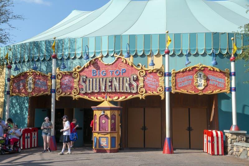 Souvenirs de chapiteau, Disney World, voyage images stock