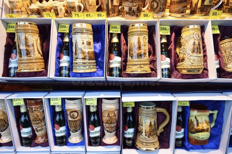 Souvenirs de Prague photographie stock