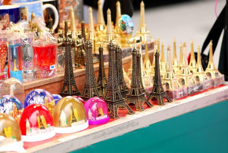 Souvenirs de Tour Eiffel photo stock