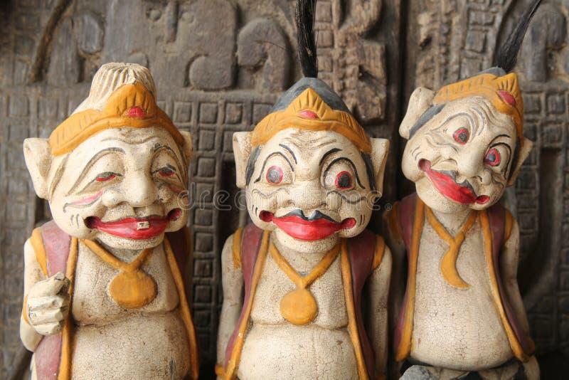 Souvenirs locaux sur l'affichage dans Bali photos libres de droits