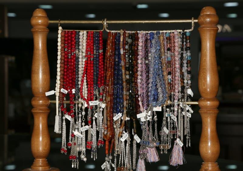 Souvenirs locaux traditionnels en Jordanie images stock