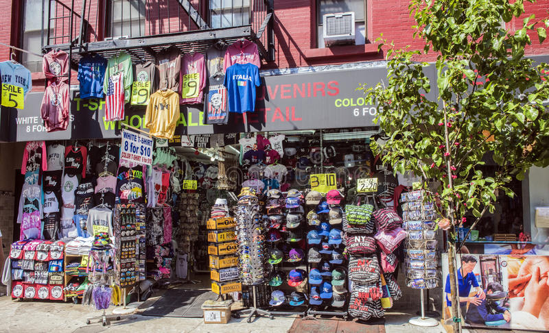 Souvenirs of new york stock photography
