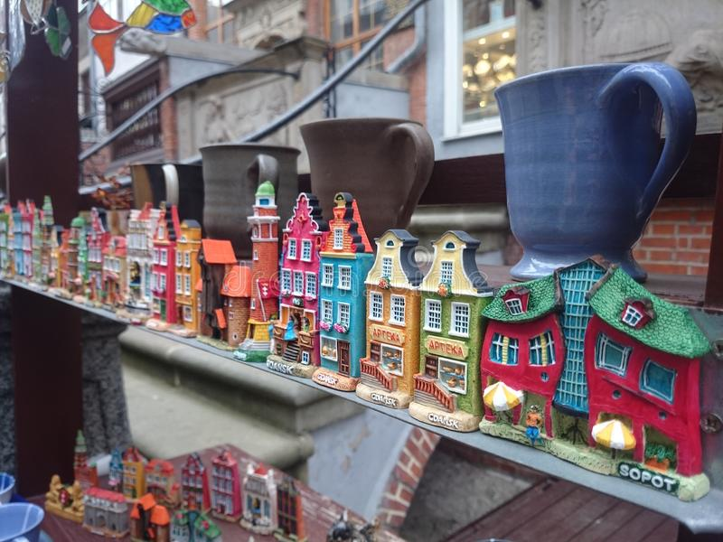 Souvenirs from Poland stock photography