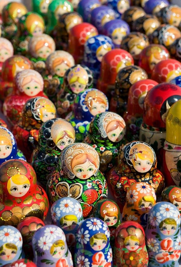 Souvenirs russes traditionnels photos libres de droits