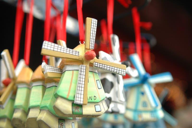 souvenirwindmill royaltyfri foto
