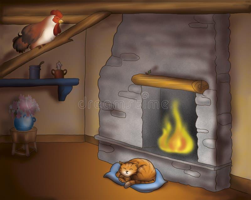 sova för kattroster