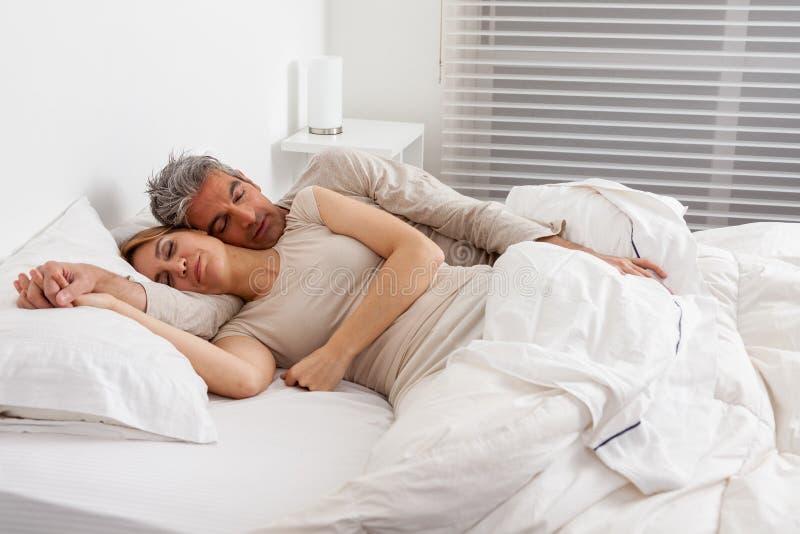 sova för par royaltyfri foto
