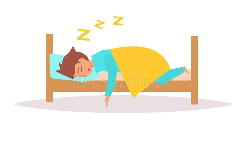 sova för underlagman vektor stock illustrationer