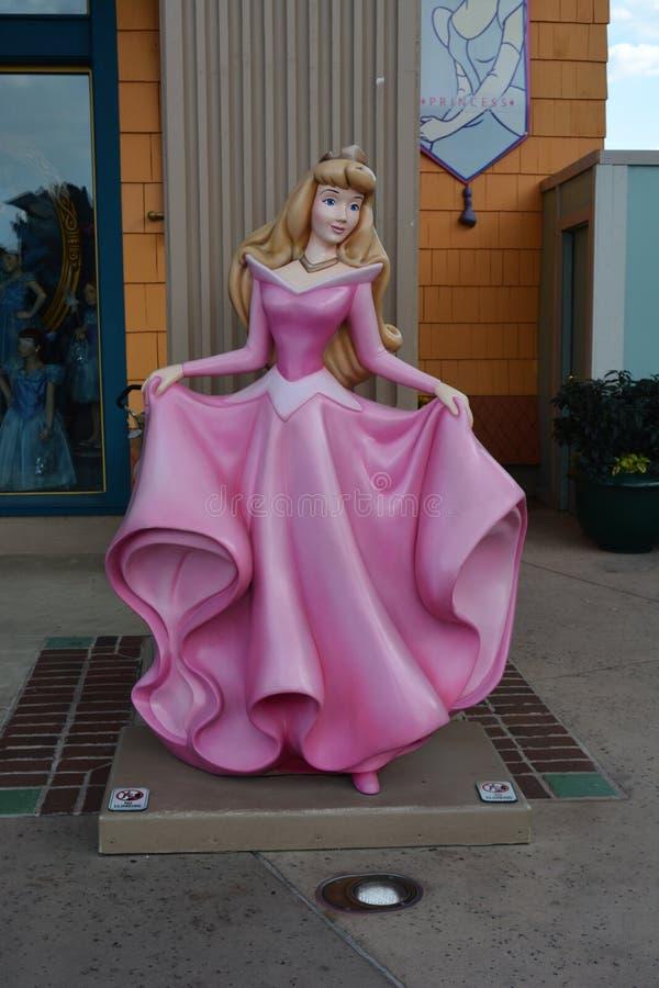Sova skönhetprinsessan Aurora - Disney diversehandel fotografering för bildbyråer