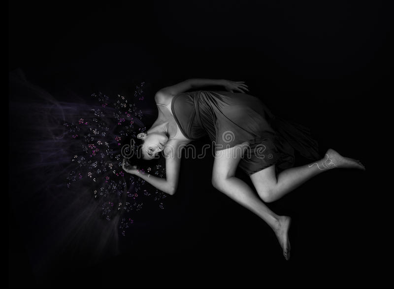 sova stjärnor för skönhethår fotografering för bildbyråer