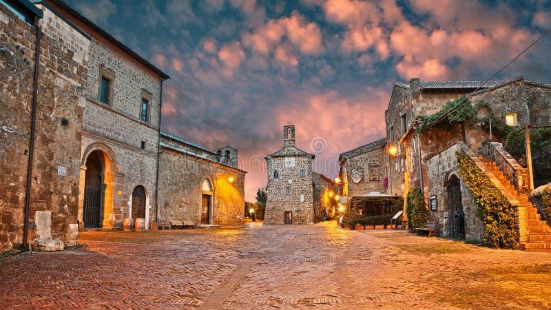 Sovana, Grosseto, Tuscany, Italy royalty free stock photography