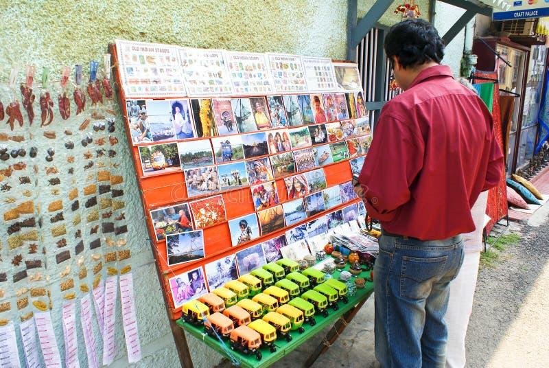 Sovenir shopping in Kochi royalty free stock photo