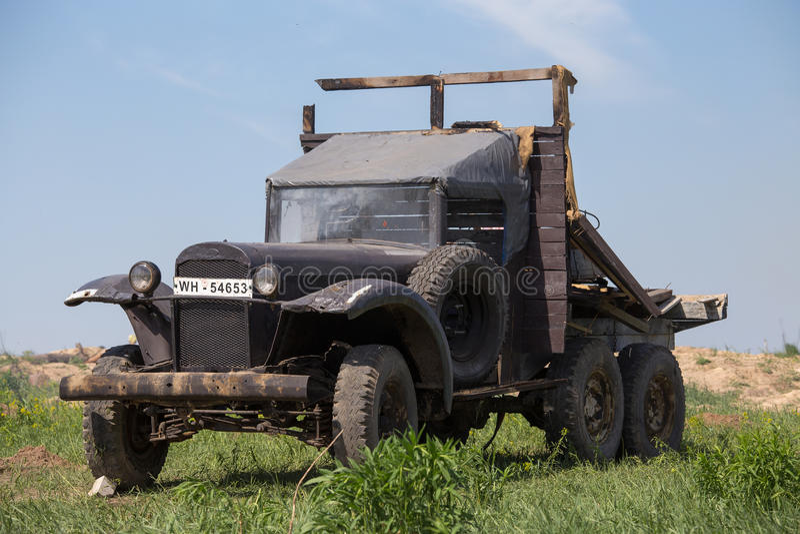 Download Soviet army truck GAZ editorial image. Image of retro - 31000145