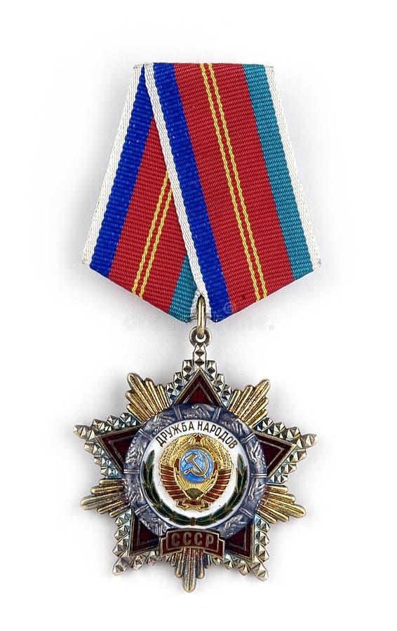 Download The Soviet award stock image. Image of winner, bravery - 2242153