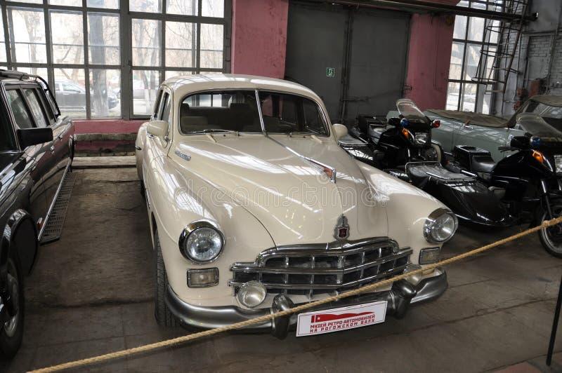 Soviet car GAZ 12 ZIM royalty free stock photo