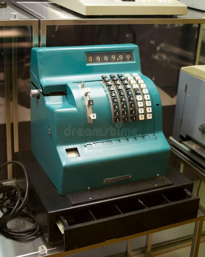 Soviet Cash Machine `KIM - 3 - SP` 1978 model year royalty free stock image