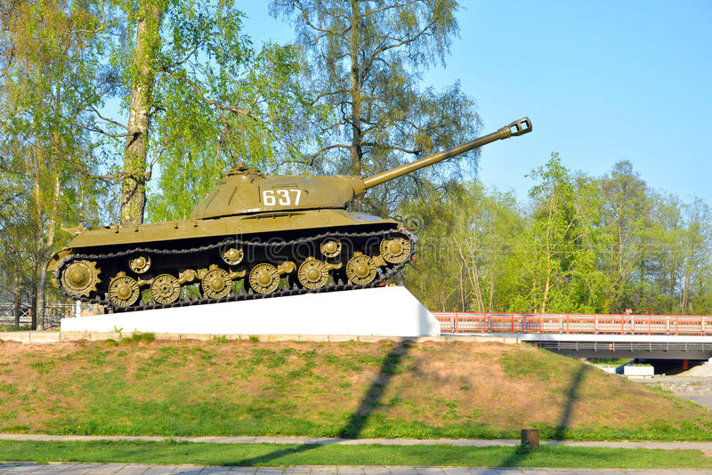 IS-3 - Soviet heavy tank development period of the Great Patriotic War. royalty free stock image