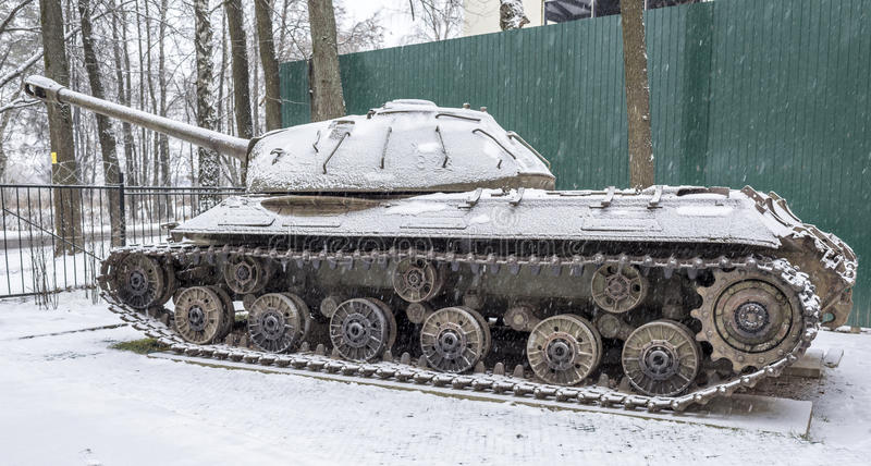 Soviet heavy tank IS-3 (Object 703.Years of production 1945-1946) stock image