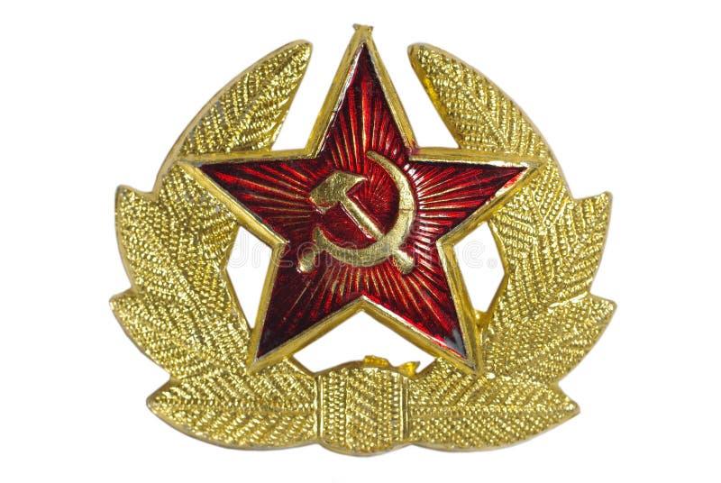 Download Soviet insignia stock illustration. Illustration of metal - 7675680
