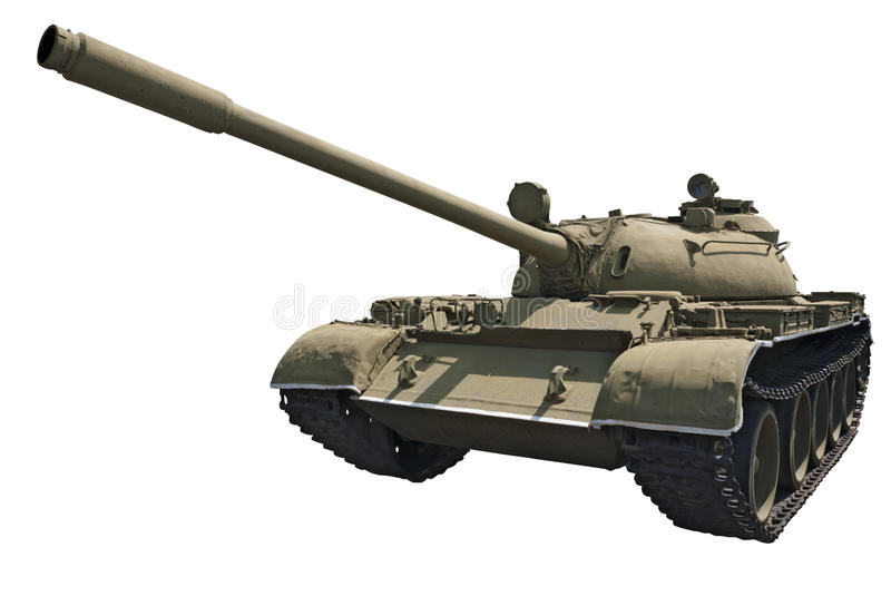 Soviet Medium Tank T-55 Stock Images