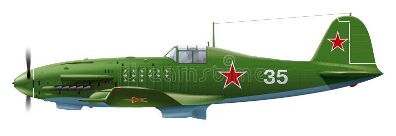 Soviet Military Aircraft Stock Vector