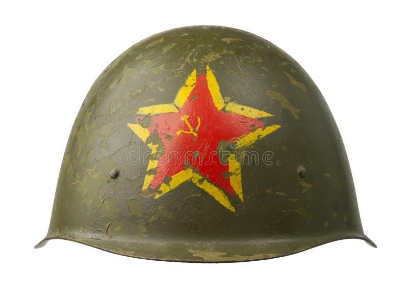 Download Soviet Military Helmet stock photo. Image of patriotic - 28221904