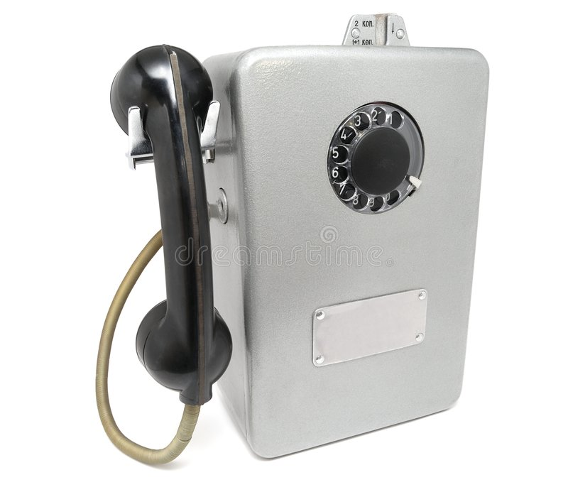 Download The Soviet payphone stock photo. Image of connection, telephone - 4593888