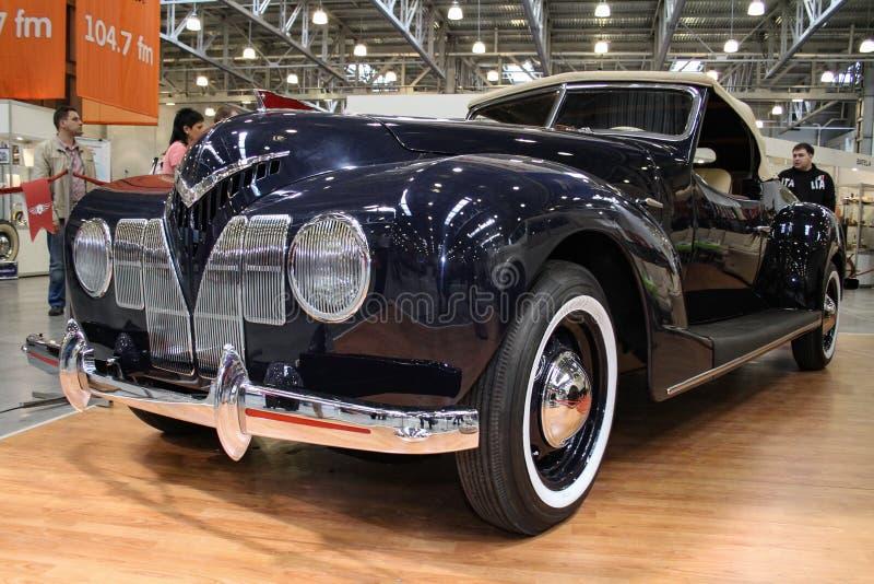 Soviet roadster ZIS 101 Sport 1939 royalty free stock photo