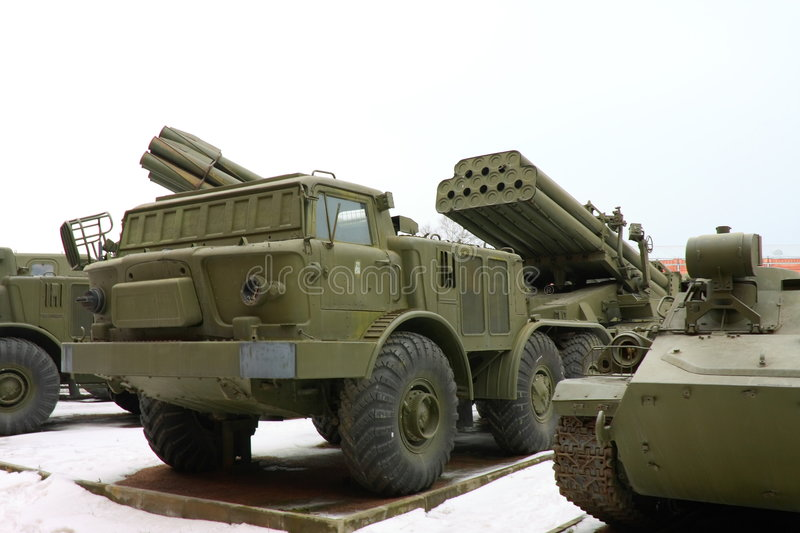 Download The Soviet And Russian Military Technics. Stock Photo - Image of transportation, armoured: 4789514