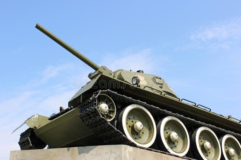 Download Soviet tank stock image. Image of muzzle, camouflage - 28060607