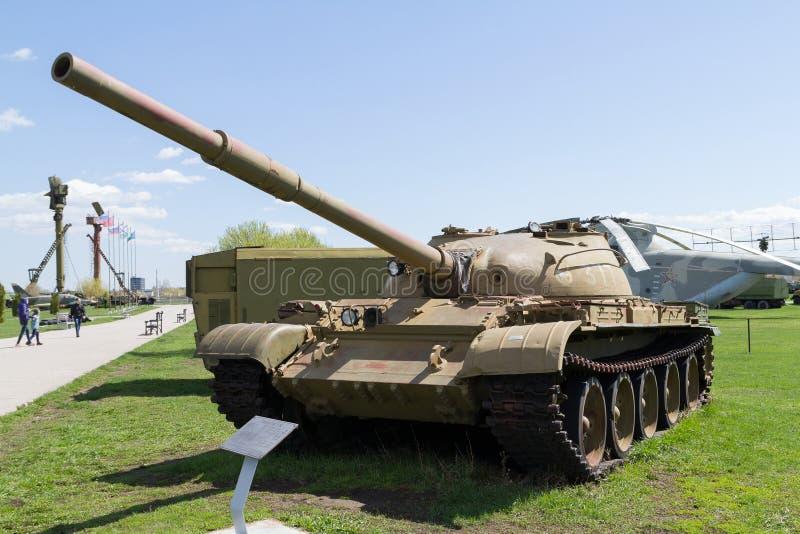 Soviet tank of times of world war II stock photo