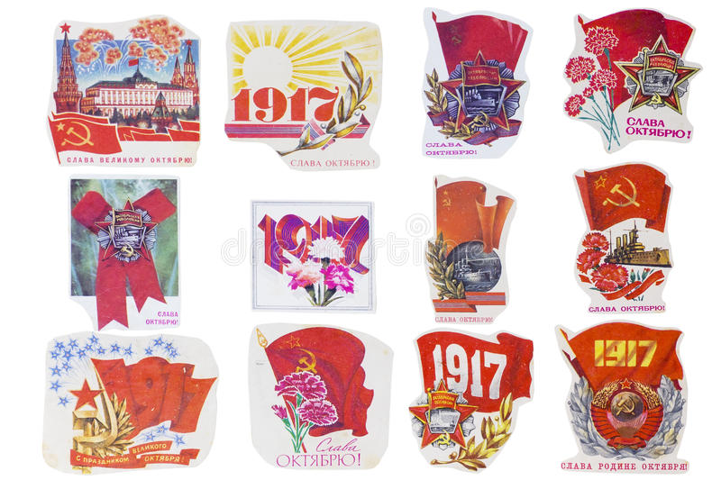 Download Soviet Union banners set editorial photography. Image of country - 27759657