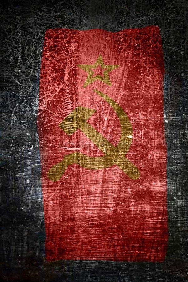 Download Soviet union flag stock photo. Image of aged, damaged - 10992228