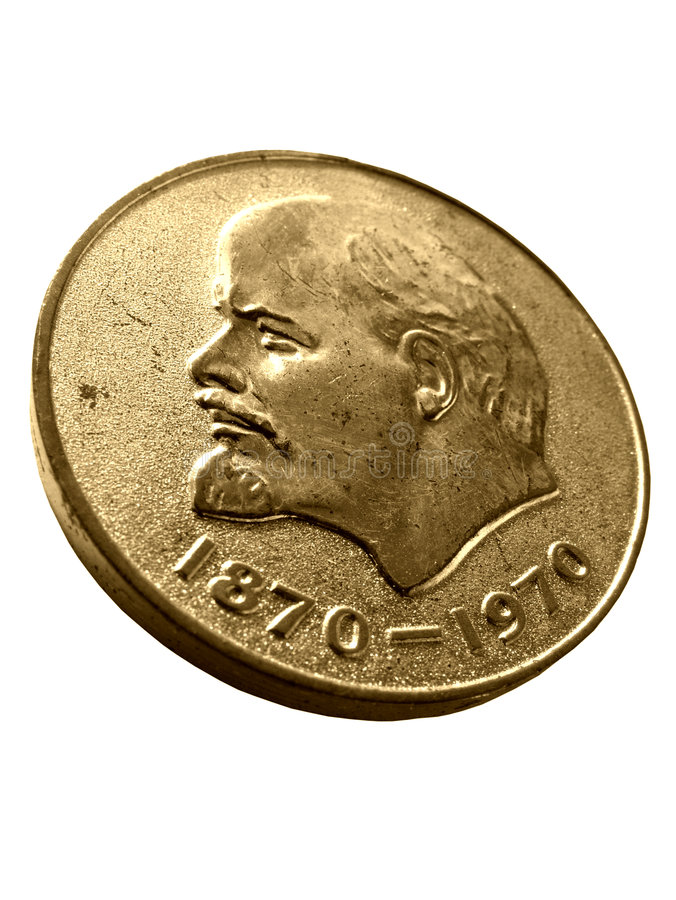 Download Soviet Union medal stock image. Image of head, historical - 102577