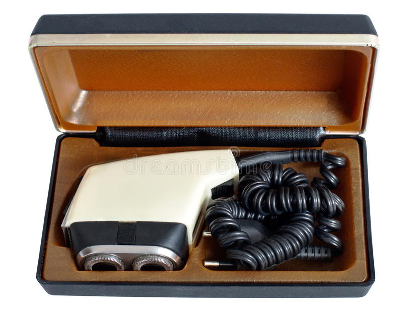 Download Soviet Vintage Electric Razor In A Case Stock Image - Image: 29028723