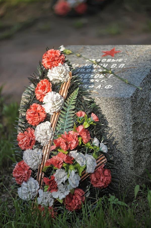 Sovjet begraafplaats royalty-vrije stock fotografie