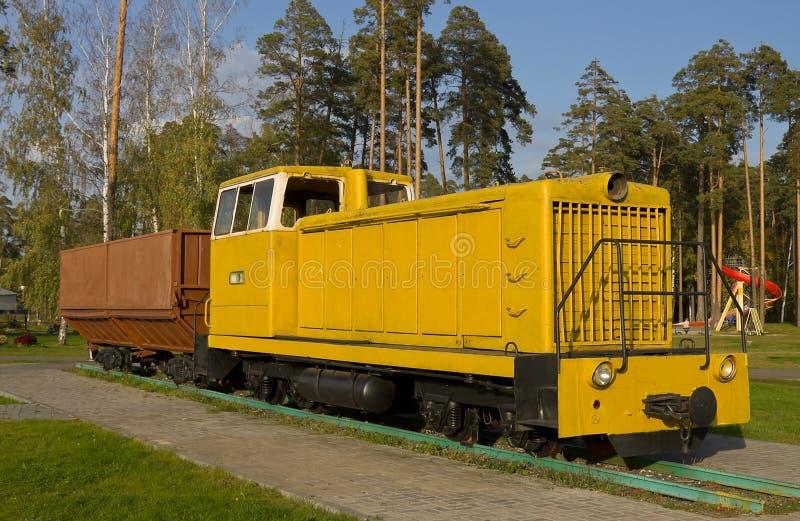 Sovjet diesel voortbewegingsTU7A stock foto's