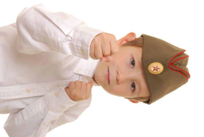 sovjet för 2 pojke arkivfoton