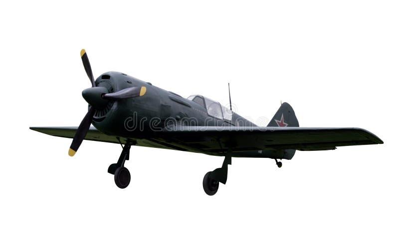Sovjet gevechtsvliegtuig royalty-vrije stock afbeelding