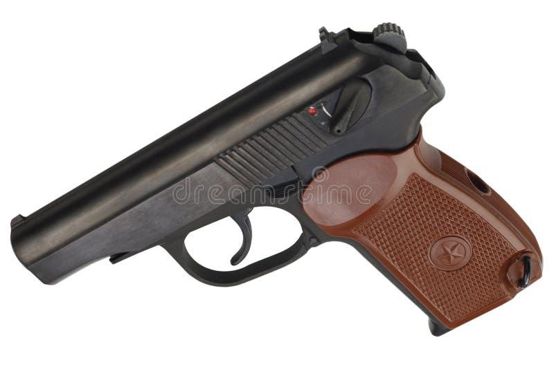 Sovjet 9mm pistool stock afbeelding