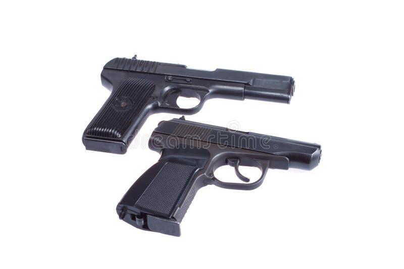 Sovjet pistool TT en PMM royalty-vrije stock foto