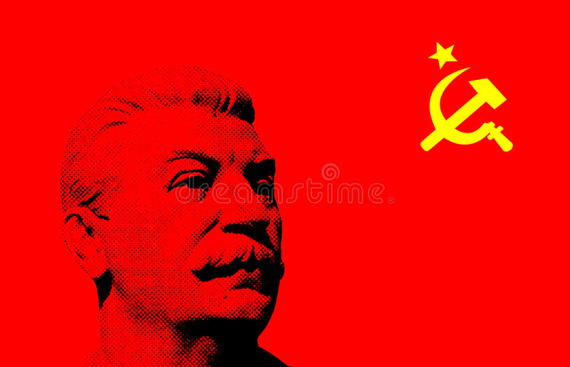 Sovjet retro achtergrond vector illustratie